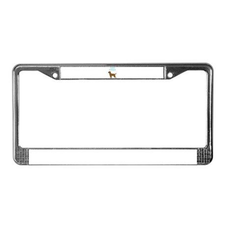 Border Terrier License Plate Frame