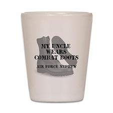 AF Nephew Uncle wears CB Shot Glass