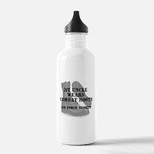 AF Nephew Uncle wears CB Water Bottle