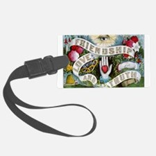 Friendship - Love-and-Truth Ribbon Luggage Tag