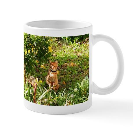 Yellow Tiger Cat Mug