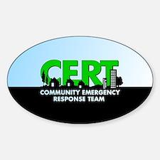 Cert Sticker (oval 50 Pk)