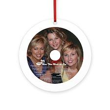 J3/Rosebud Records Ornament (Round)