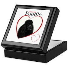 Poodle Love Keepsake Box