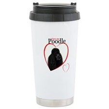 Poodle Love Travel Mug