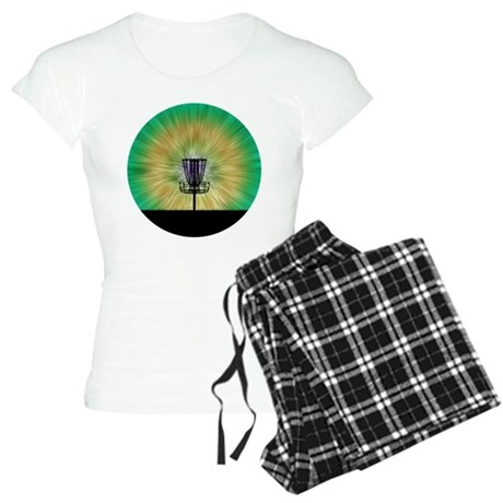 Tie Dye Disc Golf Basket Pajamas