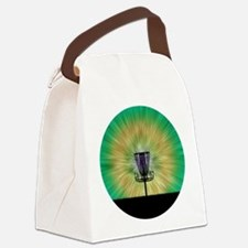 Tie Dye Disc Golf Basket Canvas Lunch Bag