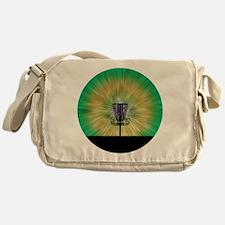 Tie Dye Disc Golf Basket Messenger Bag