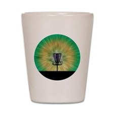 Tie Dye Disc Golf Basket Shot Glass