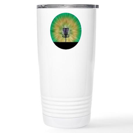 Tie Dye Disc Golf Basket Travel Mug