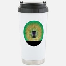 Tie Dye Disc Golf Basket Travel Mug