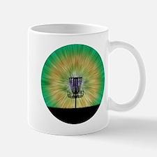 Tie Dye Disc Golf Basket Mug