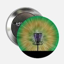 "Tie Dye Disc Golf Basket 2.25"" Button (100 pack)"