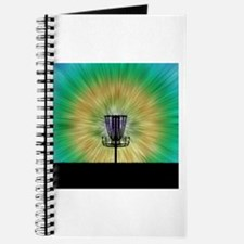 Tie Dye Disc Golf Basket Journal