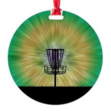 Tie Dye Disc Golf Basket Ornament