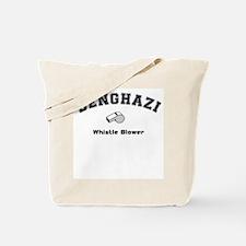 Benghazi Whistle Blower Tote Bag