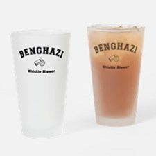 Benghazi Whistle Blower Drinking Glass