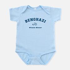 Benghazi Whistle Blower Blue Body Suit