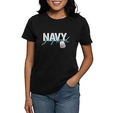 Navy Girlfriend Built to Last Tee