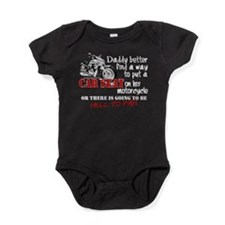 Baby Biker Attitude Baby Bodysuit