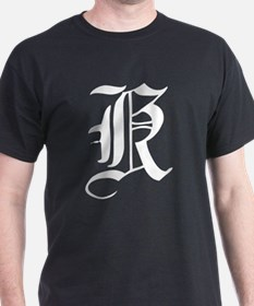 Gothic Initial K T-Shirt