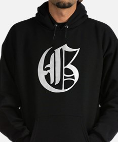 Gothic Initial G Hoodie