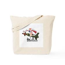 Cute Aircraft nose art Tote Bag