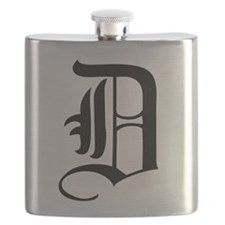 Gothic Initial D Flask