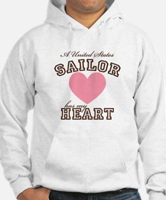 A United States Sailor has my Hoodie