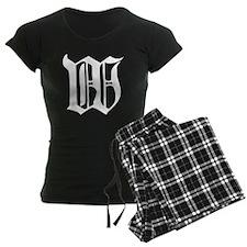 Gothic Initial W Pajamas