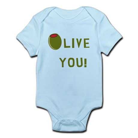 Olive You! Body Suit