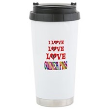 Love Love Guinea Pigs Travel Mug