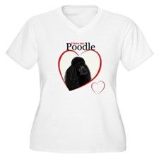 Poodle Love Plus Size T-Shirt