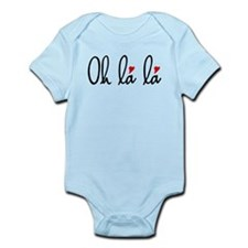 Oh la la, French word art with red hearts Body Sui