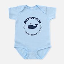 Boston Whale Excursions Infant Bodysuit
