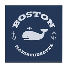 Boston Whale Excursions Tile Coaster