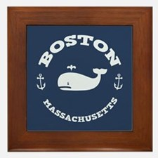 Boston Whale Excursions Framed Tile