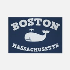 Boston Whale Excursions Rectangle Magnet