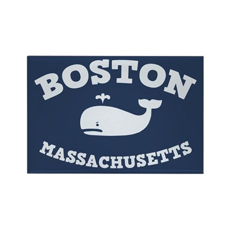 Boston Whale Excursions Rectangle Magnet (100 pack