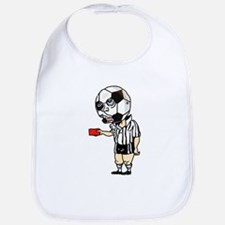 Red Card Ref Bib