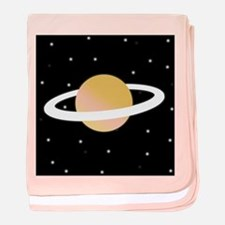 'Saturn' baby blanket