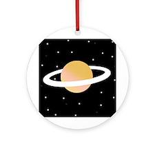 'Saturn' Ornament (Round)