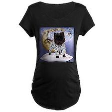 Cairn Terrier Bedtime Maternity T-Shirt