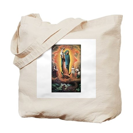 Guadalupe Defending the Child Tote Bag