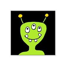 """'Alien' Square Sticker 3"""" x 3"""""""