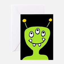 'Alien' Greeting Card