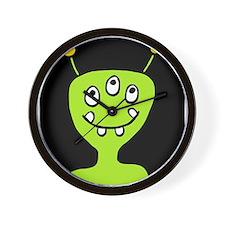 'Alien' Wall Clock