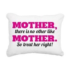 Mother, Like No Other Rectangular Canvas Pillow