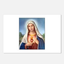 Immaculate Heart of Mary Postcards (Package of 8)