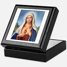 Immaculate Heart of Mary Keepsake Box